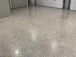 Epoxy Garage Floor in Windsor, Ontario